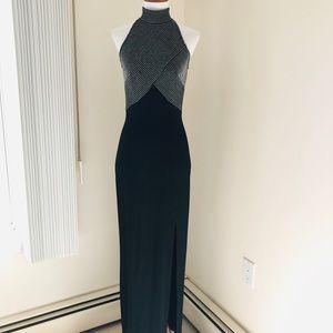 Tadashi Silver Metallic Dress